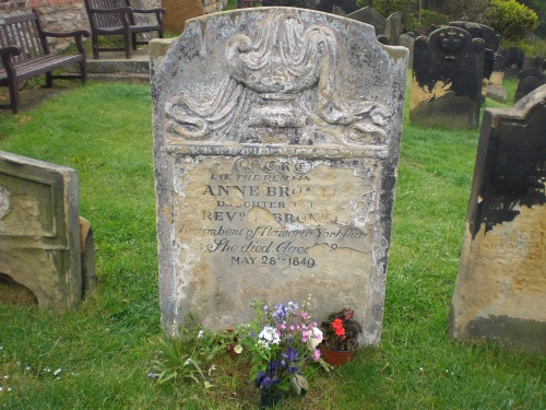 Anne Bronte's grave church of St Mary, Scarborough
