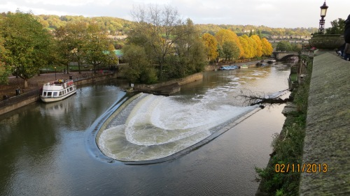 The Weir on the River Avon.
